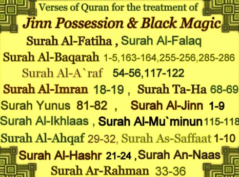 Which Surah Is Best To Remove Black Magic